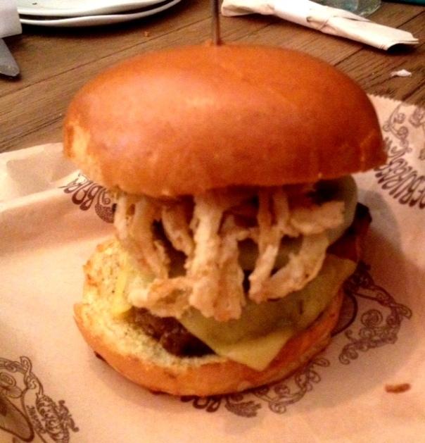 Burgers at Bareburger