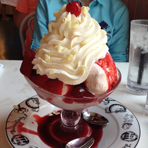 You can also get your tourist on at Serendipity 3.
