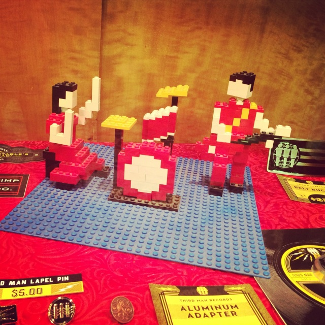 White Stripes Legos Third Man Records