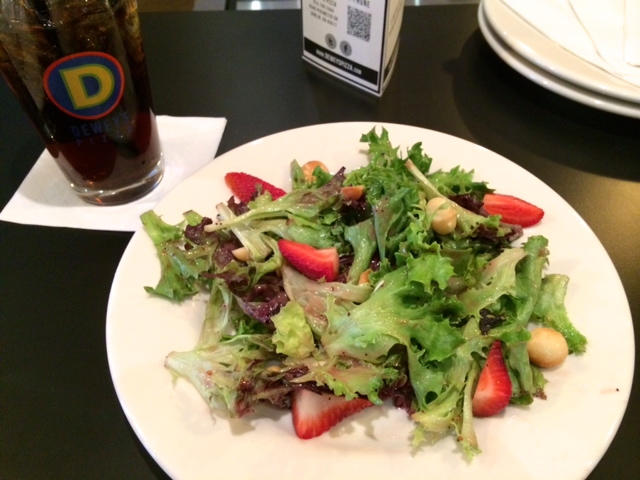 Dewey's Strawberry Macadamia Nut Salad