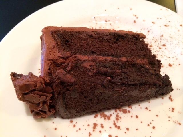 Dewey's Chocolate Kahlua Cake