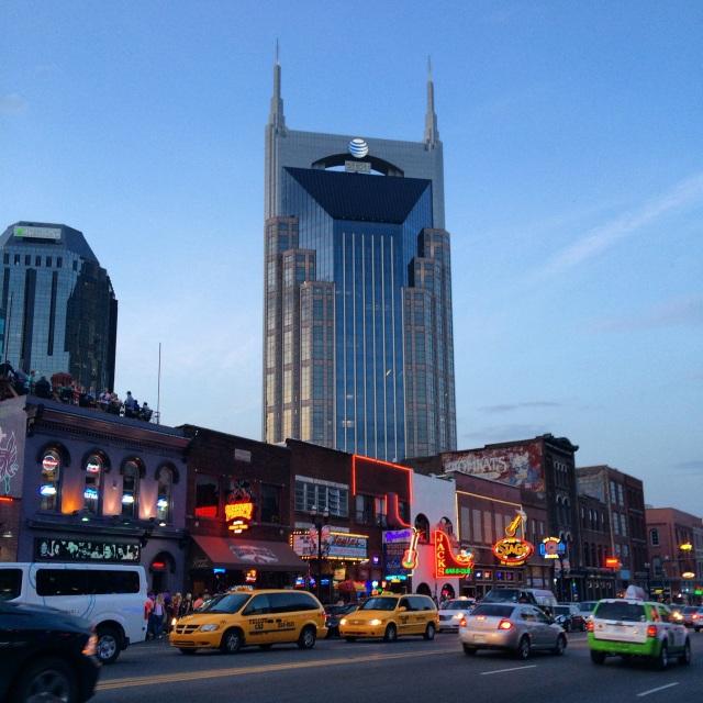 AT&T Nashville Batman Building