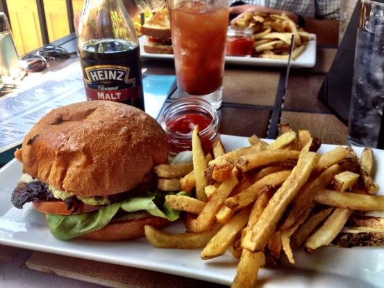 westies portabella sandwich