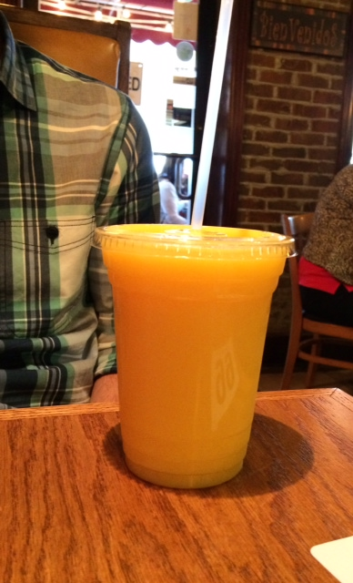 Mango Juice from El Arepazo Latin Grill Columbus
