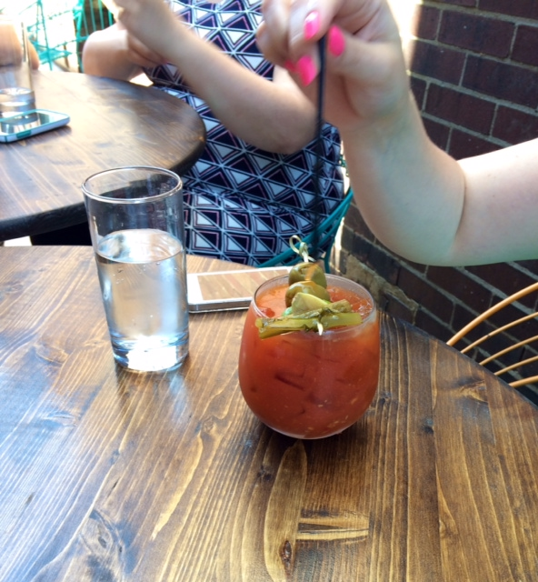 Bloody Mary from The Table, Columbus, Ohio