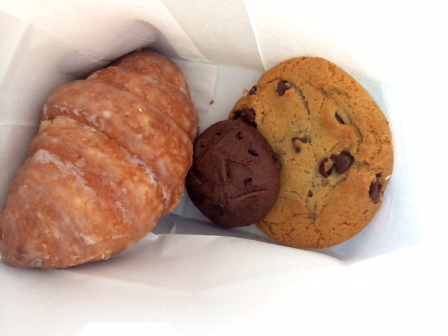 Doughssant and treats from Auddino's.