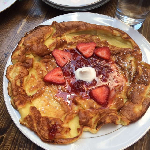 Dutch Baby at The Table, Columbus.