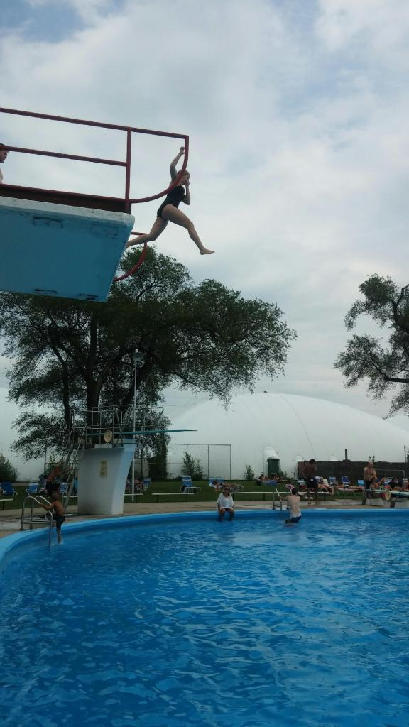 olympic swim club high dive