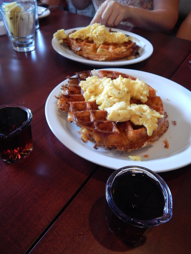 double comfort macaroni waffle