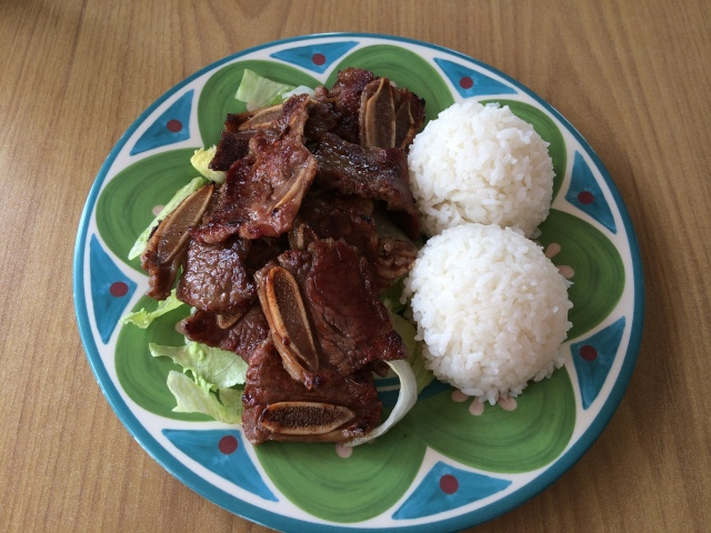 Kalbi from Aloha Hawaiian BBQ