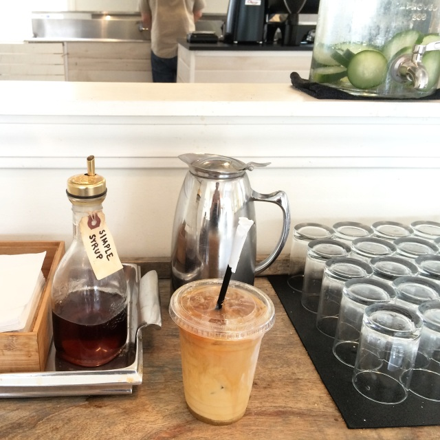 Iced Coffee from Black Tap Charleston, SC
