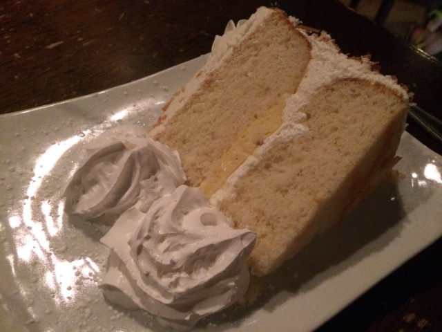 Coconut Cream Cake from Kaminsky's