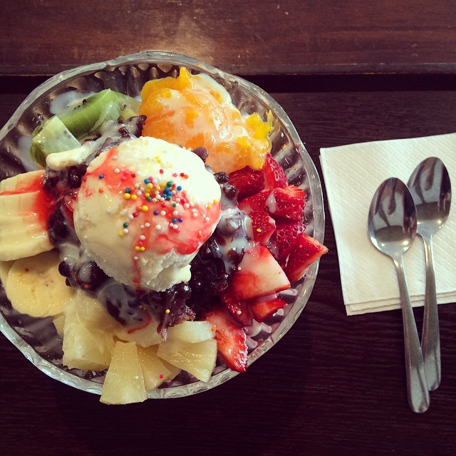 Bingsoo from the Tea Zone.
