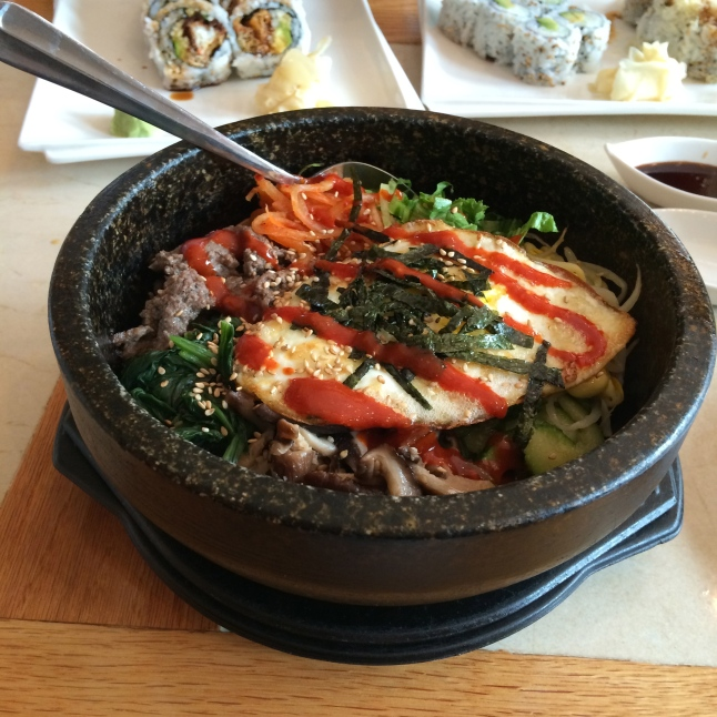 Bibimbap from Mr. Sushi