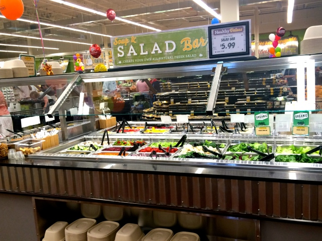 Decently priced salad bar