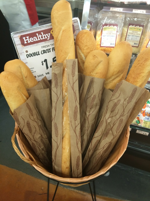 French baguettes galore