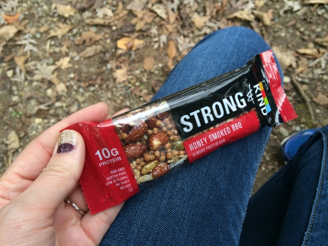 My hiking fuel of choice. The savory Kind bars are delish.