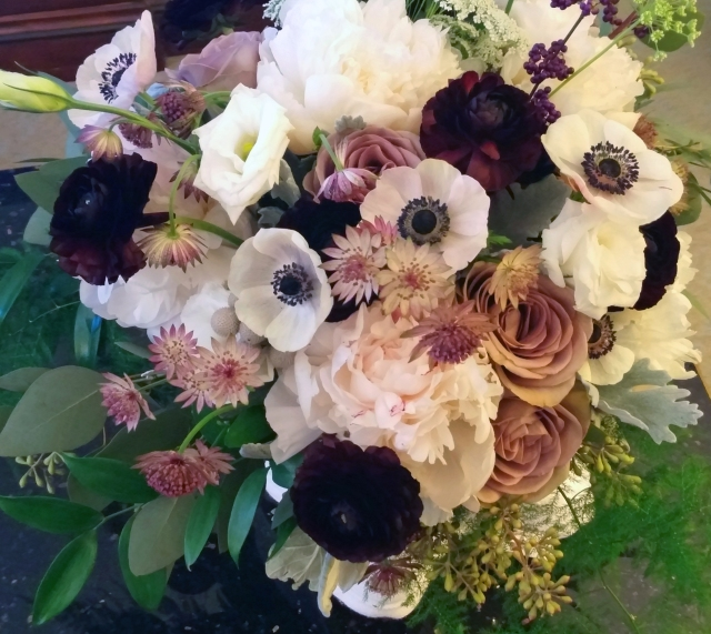 bridal bouquet from Uncloudy Studio in DC