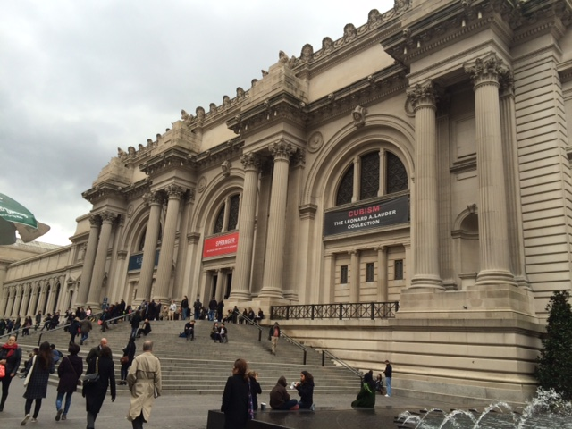 Made my way into the Met.