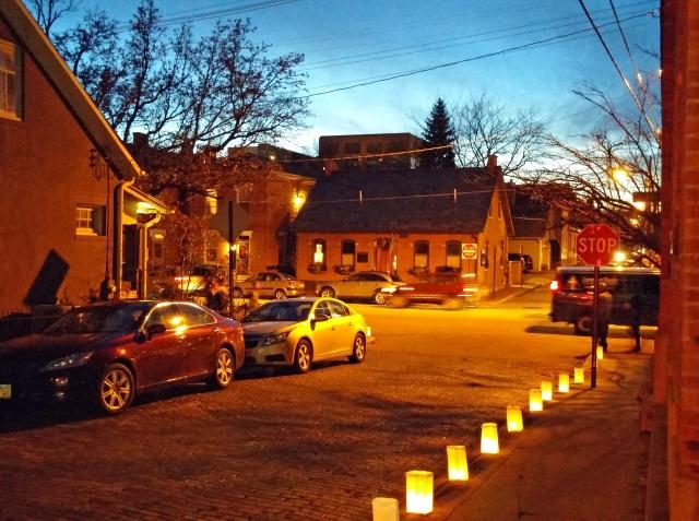 village lights | wander & whine