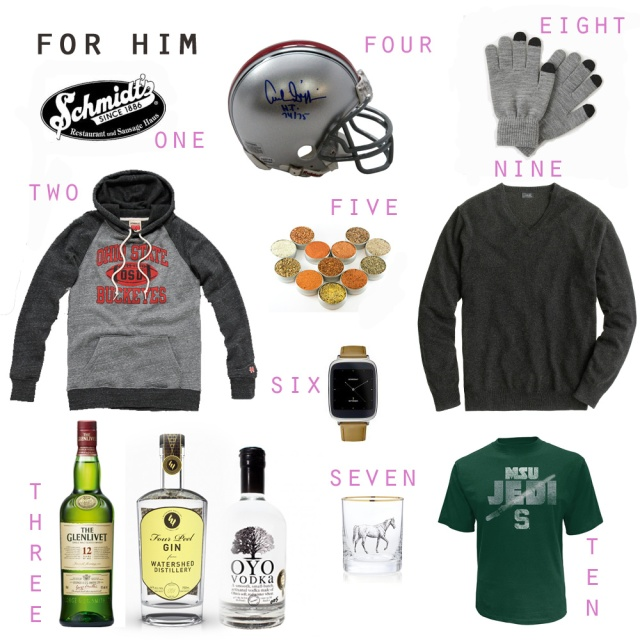 for him gift guide | wander & whine